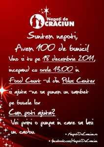 flyer nepoti de craciun